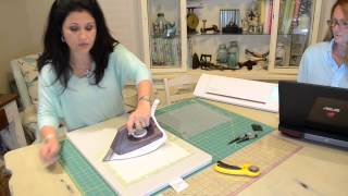Video Tutorial: Cutting fabrics using Silhouette Cameo and using Embroidery Works Everyday/Advanced