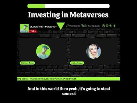 Investing in Metaverses w/ Adel De Meyer. #blockchain #crypto #nfts