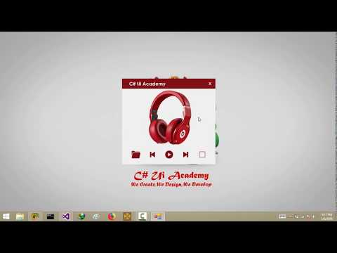 C# - Designing an Mp3 Player in Winform App