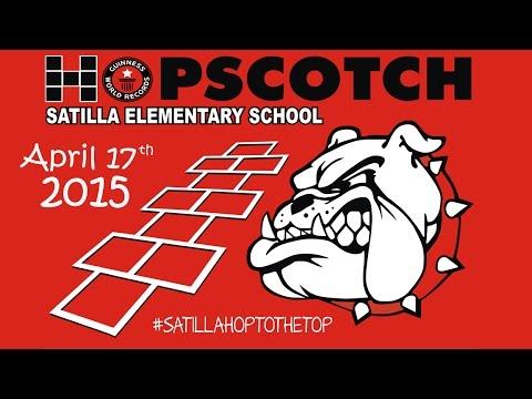Satilla Elementary School Guinness Record Attempt