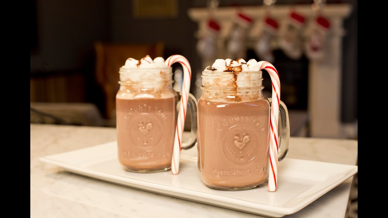 Bebida navide a de chocolate c mo hacer una bebida para for Productos de navidad