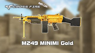 CF NA/UK M249 MINIMI Gold review by svanced