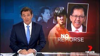 Disrespectful Muslim Terrorist Helper Sentenced.(Curtis Cheng Murder) Seven News