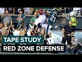 Eagles Tape Study: Cory Undlin Breaks Down Red Zone Defense   Eagles Game Plan
