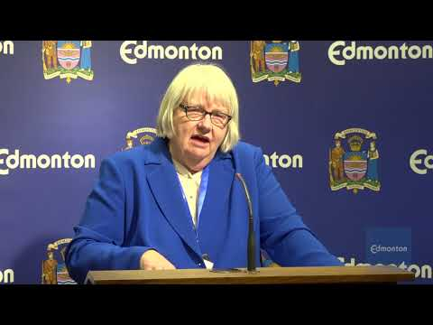 City of Edmonton Senior Administration News Conference: Exhi