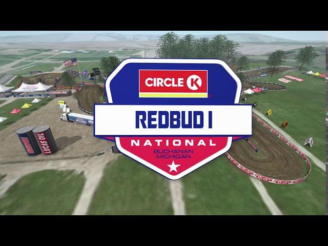 2020 RedBud Animated Track Map
