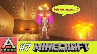 PIXARK - Minecraft Ark #7 - Lost Character - Nhân Vật Bé Lỳ Bị Mất