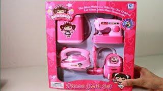 House Hold Set, Washing machine,Iron, for Kids | Unbox & Test thumbnail