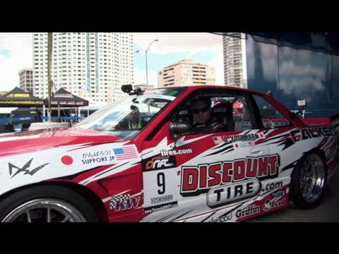 Behind The Smoke Ep 3: Dai Yoshihara Formula Drift 2011 Season: Long Beach Qualifying