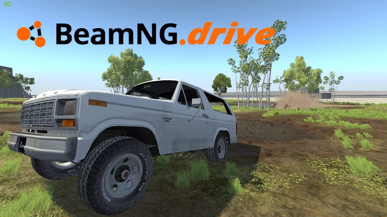 beamng drive 1980 1986 ford bronco youtube rh youtube com 1972 Ford Bronco Early Ford Bronco