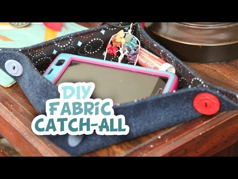 DIY Fabric Catch-All Bowl - Whitney Sews