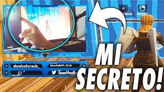 SO MY SCREEN IS SEEN IN FORTNITE !! *MY SECRET* - Rike