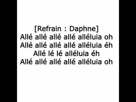 Daphne - Alleluia ft. Boy TAG (Lyric / Paroles )