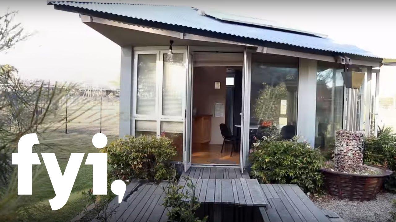 Tiny House World Tiny Two Story Pop Up Fyi Youtube