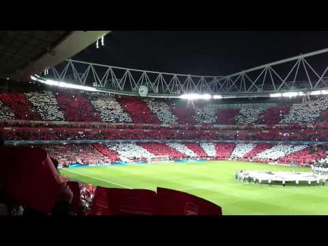 Arsenal vs Bayern Munich Opening Music