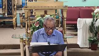 Live the life God wants you to live| Greater Palm Bay COG|Bible Study|Bishop J.R. Lewinson | 4.15.20