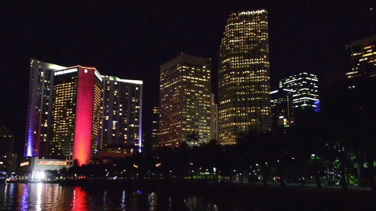 Intercontinental Hotel Miami Led Lights