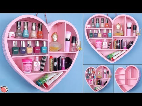 DIY Makeup Organizer !!! Multi Purpose Room Organizer