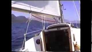 "Westerly Pageant ""DOLPHIN""  No. 15. Sailing in the Greek Islands - Little Vathi."