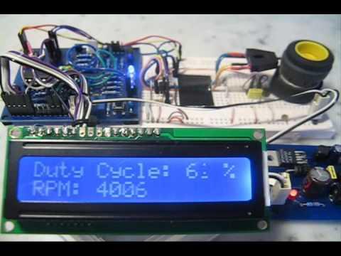 Pic18 Pulse Width Modulation Pwm Dc Motor Speed
