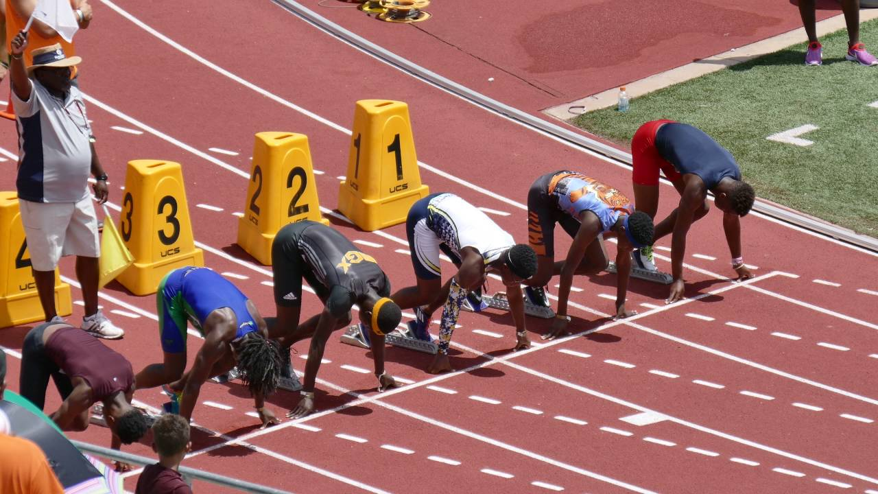 Asheville Lightning Junior Olympics Track and