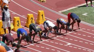 2016 - AAU JUNIOR OLYMPIC CHAMPIONSHIPS - 15-16 YR BOYS 100 METER FINAL - TYRESE COOPER 10.36