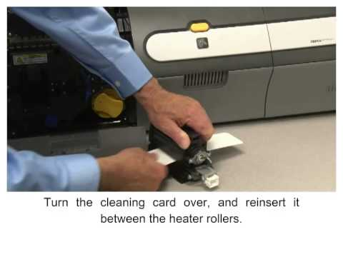 Zebra ZXP Series 7 How-To: Clean the Laminator Oven