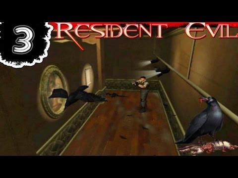 Resident Evil 1 - Chris Detonado / Walkthrough [Parte 03] - Corvos Doidos !
