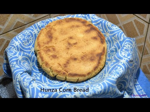 Hunza Corn Bread | Baking without oven| Hunza Bread