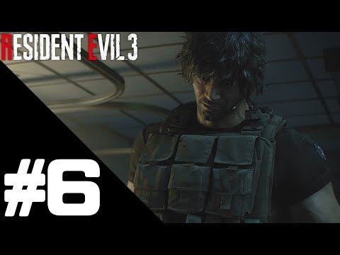 Resident Evil 3 Walkthrough Gameplay Part 6 – PS4 Pro 1080p/60fps No Commentary