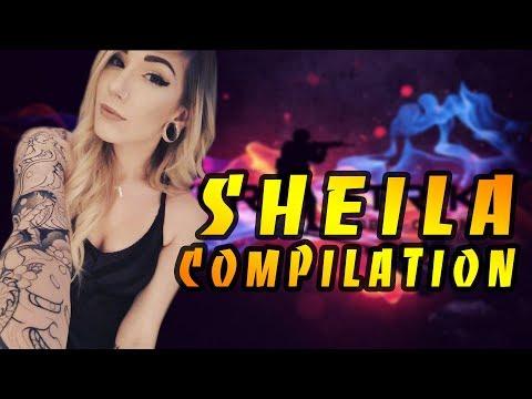 CS:GO - Best Female Pro Player: Sheila compilation #6