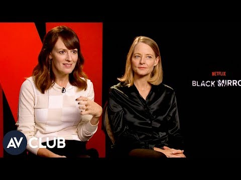 Jodie Foster and Rosemarie Dewitt on what drew them to Black Mirror