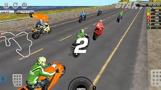 City Street Bike Racing Android Game #City Motor Cycle Race Game #Bike Racing Games 3D #Game Android