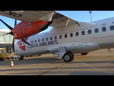 TripReport | Czech Airlines | ATR 42-500 Economy | Bratislava - Košice