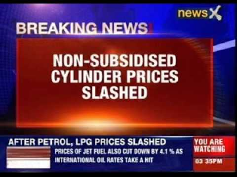 LPG rate cut by Rs 113, jet fuel prices by 4.1 per cent