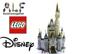 Lego Disney 71040 The Disney Castle - Lego Speed Build Review