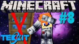 Minecraft Galactic Space Program - #8 Failed Dimension Doors!