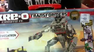 Kre-O Transformers Megatron BOX REVIEW
