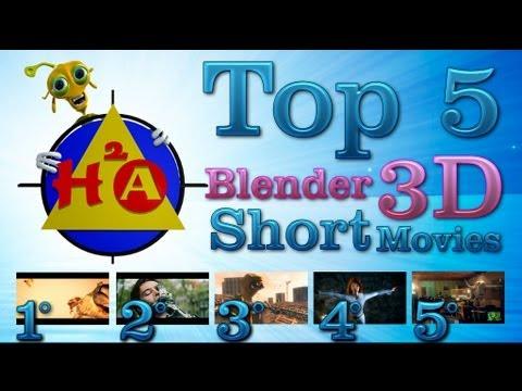 H2A Top 5 Blender 3D Cortos Animación