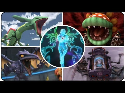 Super Smash Bros. Brawl - All Bosses