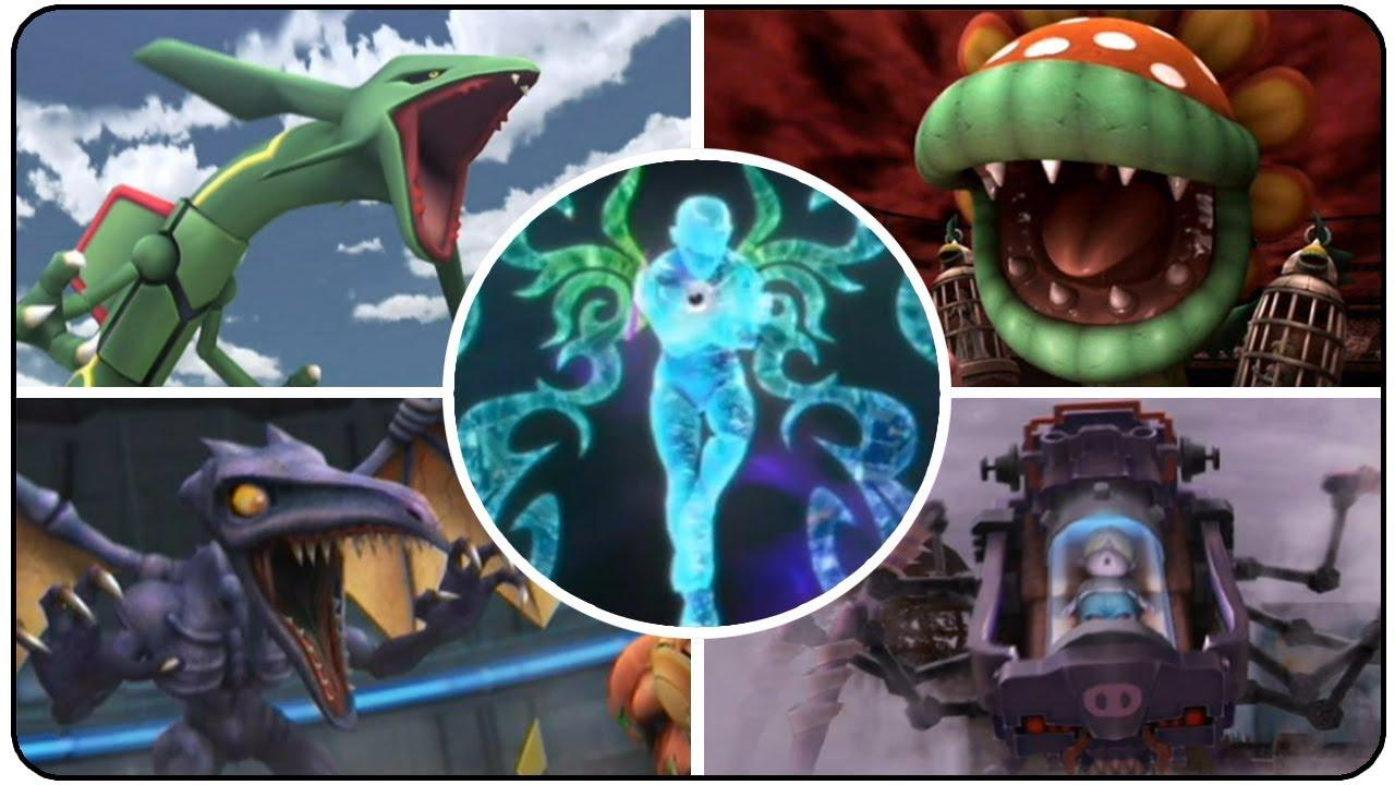 Super Smash Bros Brawl All Bosses YouTube
