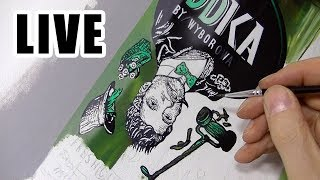 Painting Live - Green Bottle - 9th