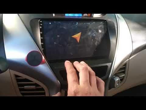 Hyundai Elantra Android автомагнитола