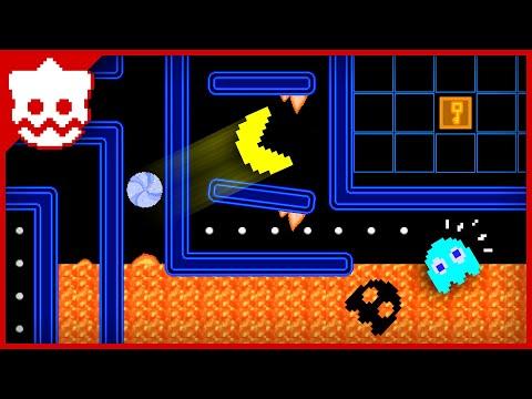 PAC-MAN Maze Mayhem 💥 8bit Pixel Cartoon Animation