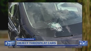 2nd person comes forward saying object hit vehicle while on I-540