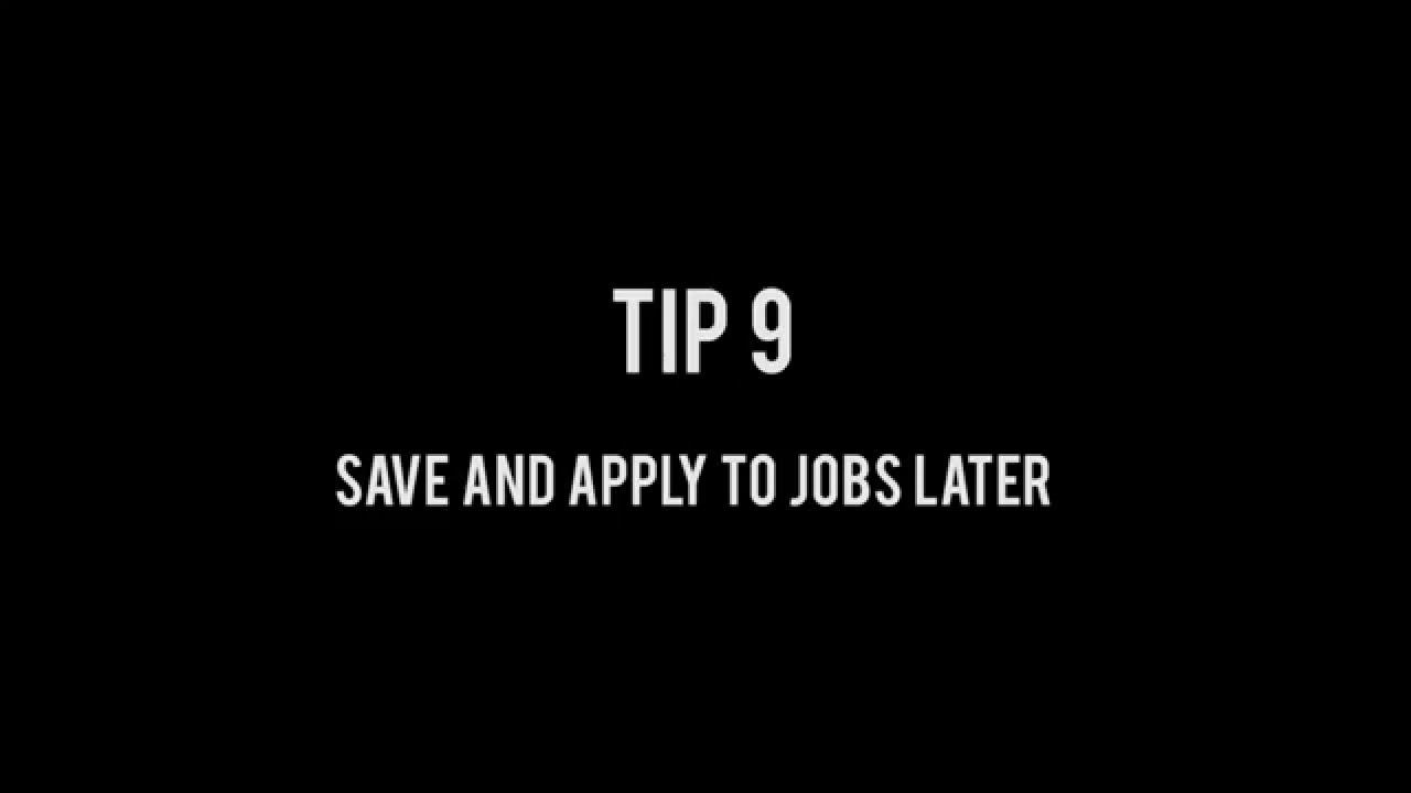 caribbeanjobs com tutorial saved jobs caribbeanjobs com tutorial saved jobs