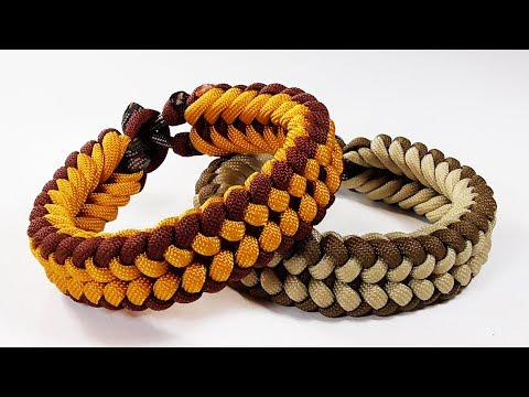 Paracord Tutorial How To Tie The Sanctified Paracord Survival Celet
