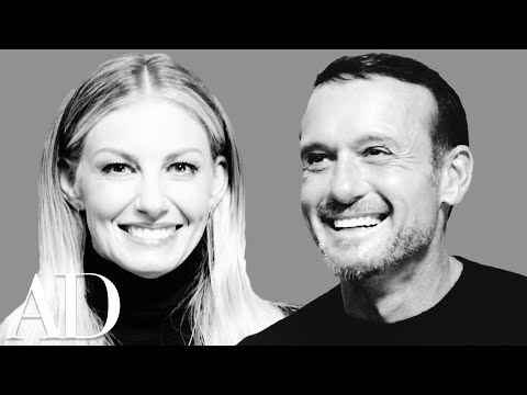 Faith Hill and Tim McGraw Play the Newlywed Game | Architectural Digest