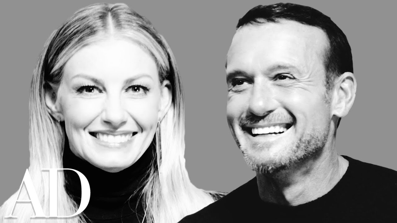 Tim McGraw and Faith Hill Play the Newlywed Game   Architectural Digest