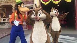 Goofy, Chip and Dale keep you guessing with CHARADES! // Disneyland
